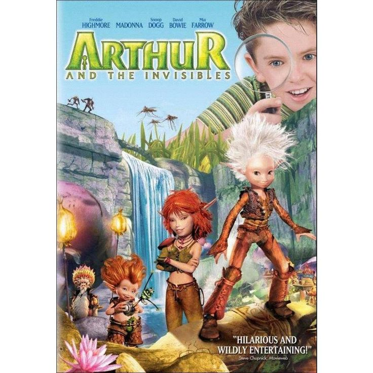 Arthur and the Invisibles (dvd_video)