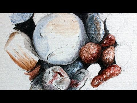 How to Draw Rocks with Graphitint Pencils