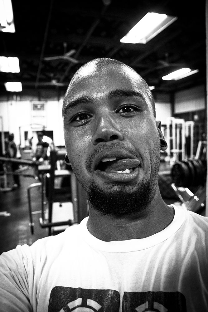 Me at Mustang Sports Gym, Parow Cape Town