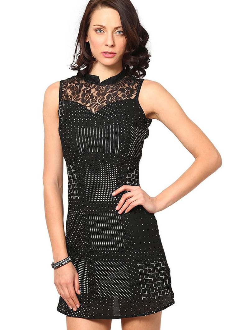 Black Dresses @ $45.60. 24% OFF. https://www.dollyfashions.com/the-vanca-black-dresses-3000390656.html