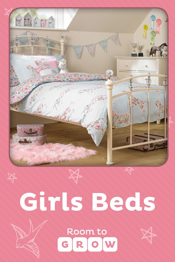 On trend and super stylish, our handpicked girl's beds range covers it all. Clever concepts and ingenious designs provide choices from single low beds to cabin beds, bunk beds to high beds, delighting tots to teens alike.