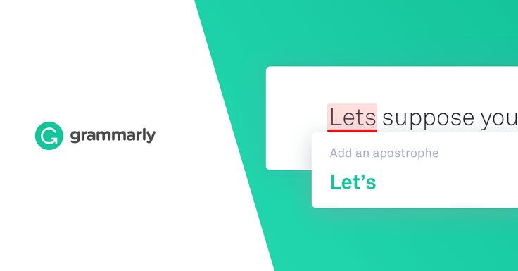 Grammarly makes sure everything you type is easy to read, effective, and mistake-free. Try it today: