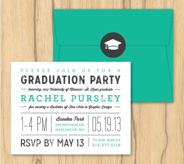 58 best graduation invitations images on pinterest graduation beautiful typography graduation invitations by rachel pursley via behance filmwisefo Choice Image