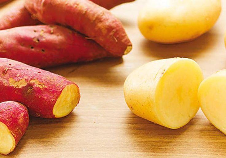 Gosta mais de batata 'normal' ou batata doce? #Benefícios_da_Batata_Doce #receitas #alimentos #batata #doce #benefícios #diabetes #colesterol