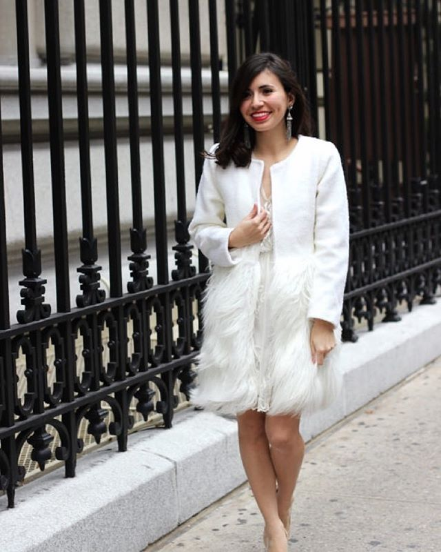 Winter white. #chicwish Snow White faux fur coat (shop link in profile or search sku: T20151124003) #chic #white #coat #fauxfur #style #fashionblogger #fashion #blogger #ootd #outfit #shop #shoppingonline #sale #coat #winter #warm