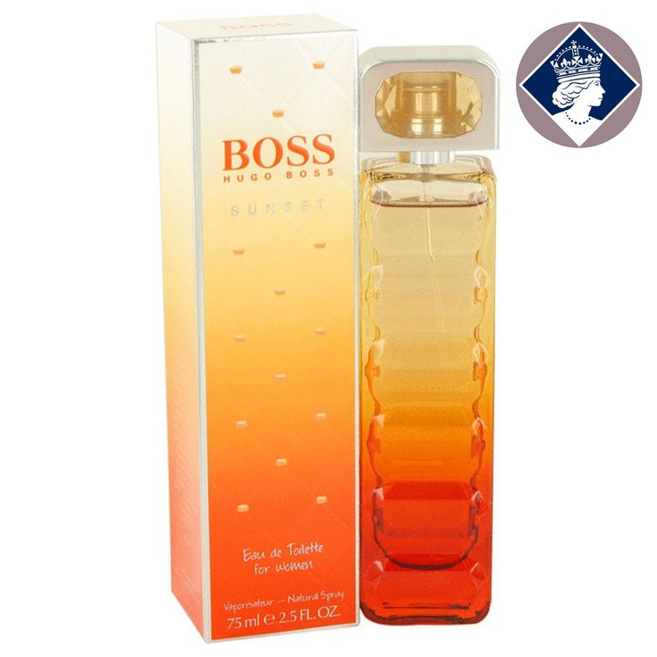 Hugo Boss Orange Sunset for Women 75ml/2.5oz Eau De Toilette EDT Perfume Spray