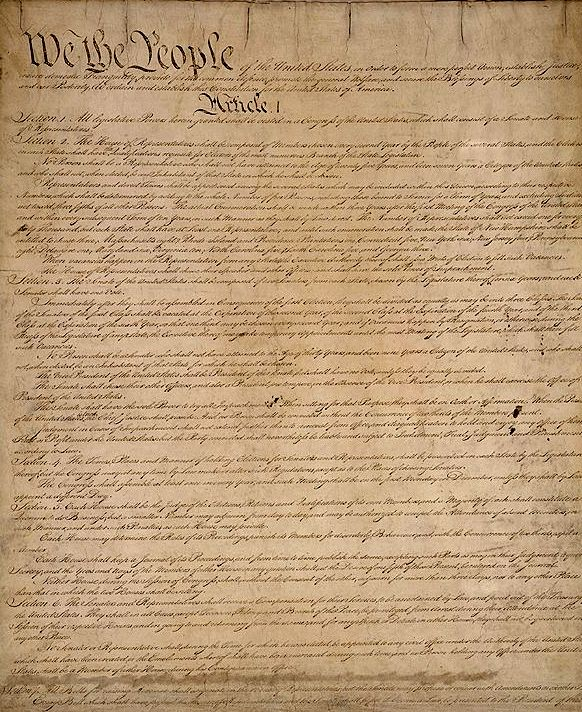 Constitution Signed on 9/17/1787  Significance: Established US government and laws, outlined 3 branches of goverment. First 10 Amendments are known as the Bill of Rights.