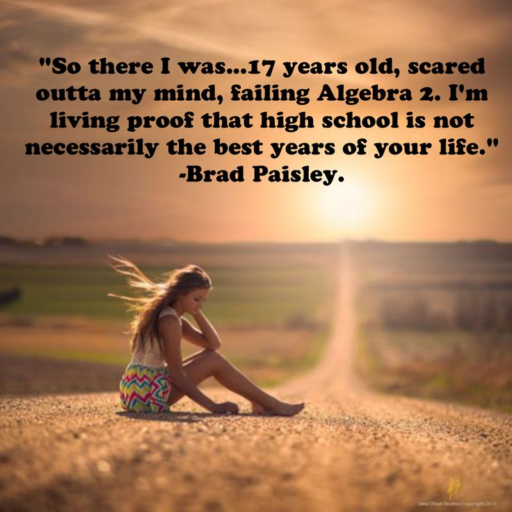 "Love love love this brad paisley quote... ""Letter to me"""