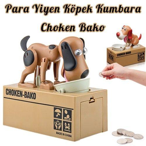 Choken Bako Para Yiyen Köpek Kumbara ::