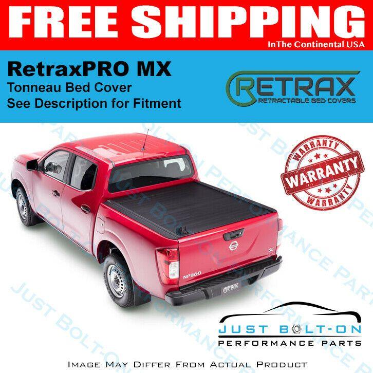 Retrax 2007 2019 Tundra Regular Double Cab Long Bed Retraxpro Mx 80833 Truck Bed Covers Retractable Bed Cover Chevy