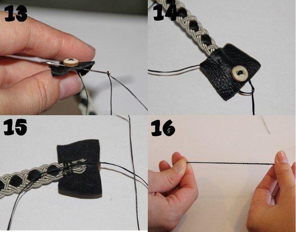 Como hacer pulseras tejidas paso a paso4