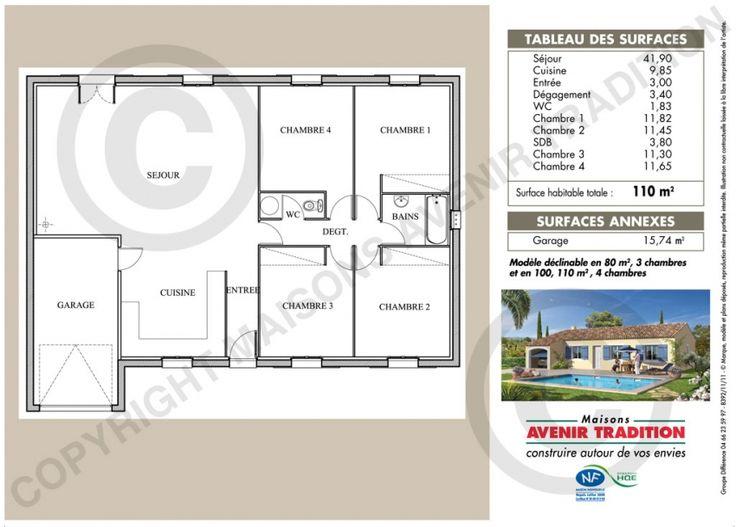 37 best plans maisons images on Pinterest Floor plans, House