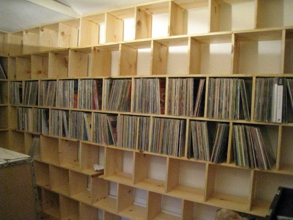 133 best LP record storage SHELVES