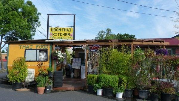 Ubon Thai Kitchen on Hwy 99, Eugene - The BEST phad thai ever, and it's my favorite restaurant!