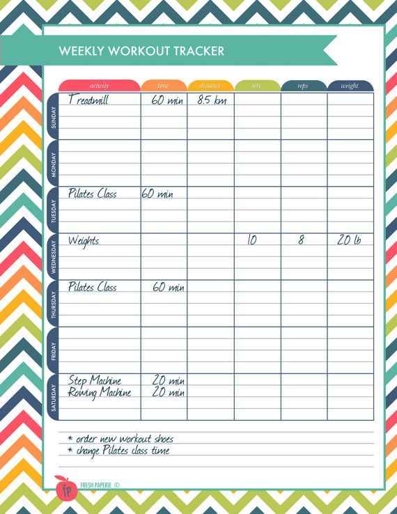 Best  Workout Log Ideas On   Workout Log Printable