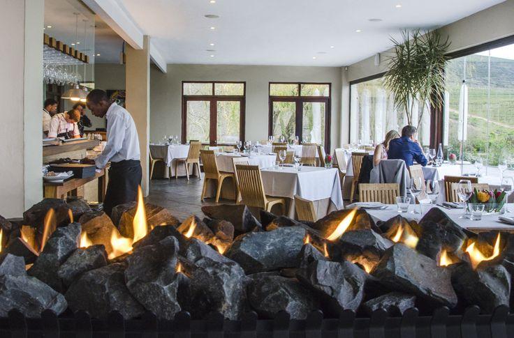 The beautiful interior of Jordan Restaurant