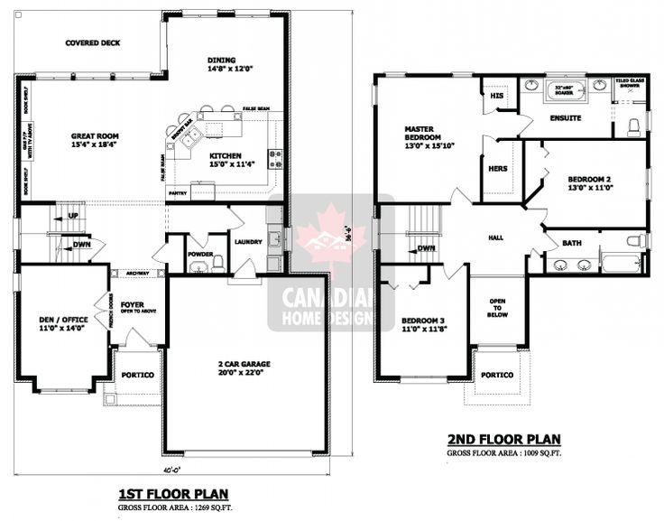 best 25+ two storey house plans ideas on pinterest | 2 storey