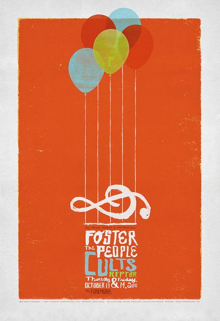Foster the People, Cults, and Reptar at The Fillmore woo hoo yay cheese
