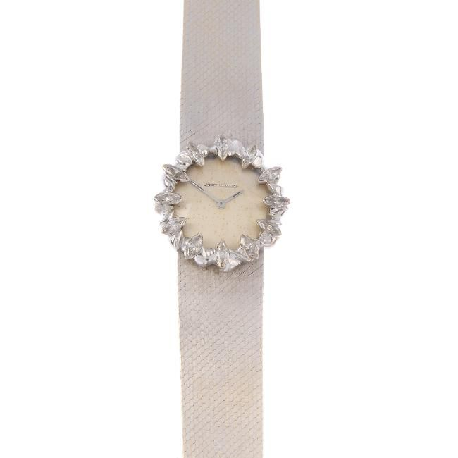 www.liveauctioneers.com item 52003039_jaeger-lecoultre-a-1960s-18ct-gold-diamond-watch-the?classic=true