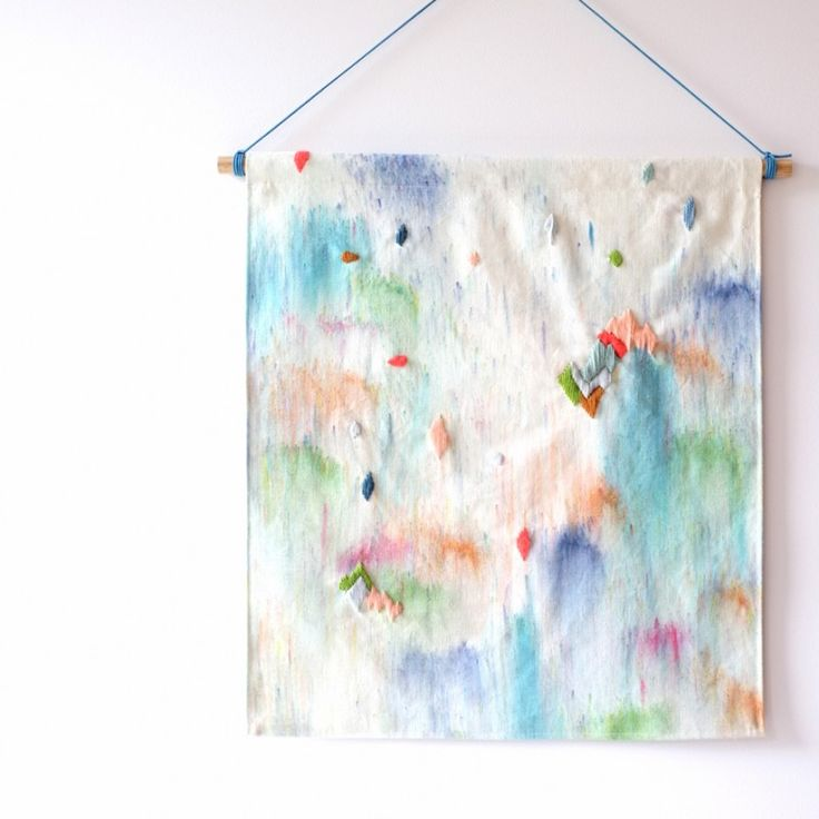 Fabric wall hangings could be something to consider