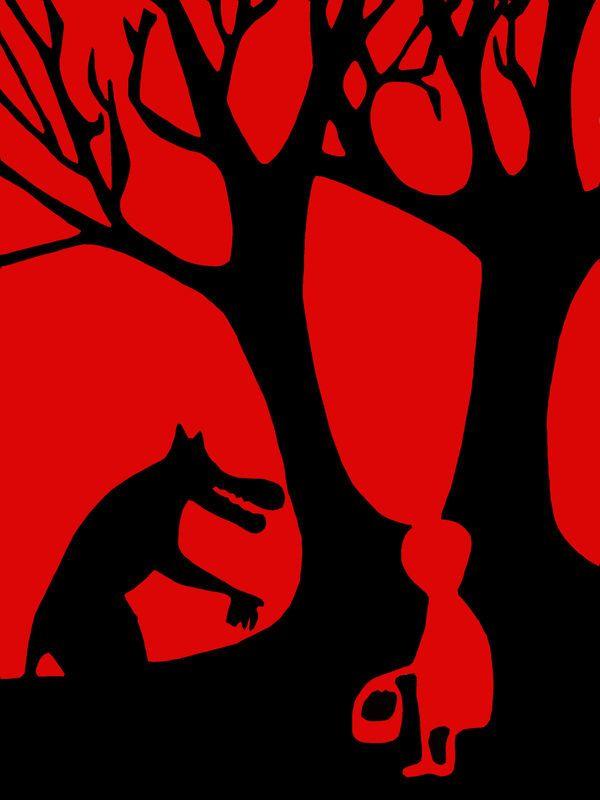 Le Petit Chaperon Rouge illustration