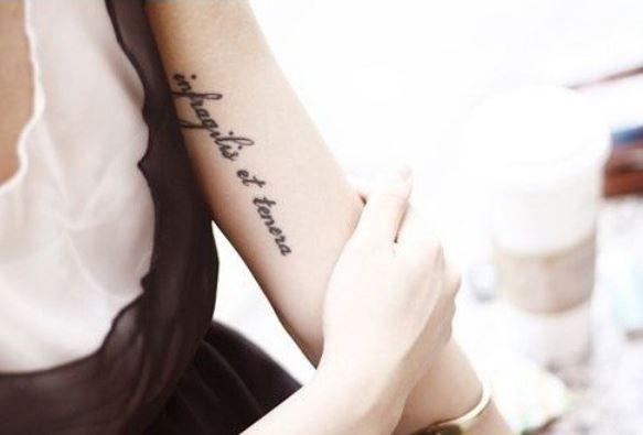 Tatuaggio interno braccio