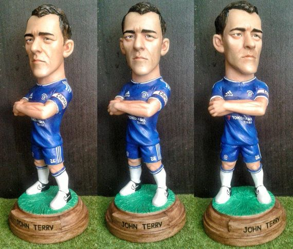 John Terry.resin.Figurines Statue Caricature by BUDAMODEL on Etsy