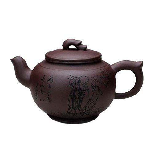 Item Name:Shouxing Material:Huanglong Mountain Purple Clay Capacity:500cc Size:width(include mouth):17cm, height:9cm Craftsman:Ding Tao Accessory:Works Certificate,Gift Box CARE & USE With continued use, the purple clay from which YiXing teapots are made will absorb the flavors of your tea,... see more details at https://bestselleroutlets.com/home-kitchen/kitchen-dining/dining-entertaining/cups-mugs-saucers/teacups/product-review-for-ufengkechinese-yixing-handmade-zisha-p