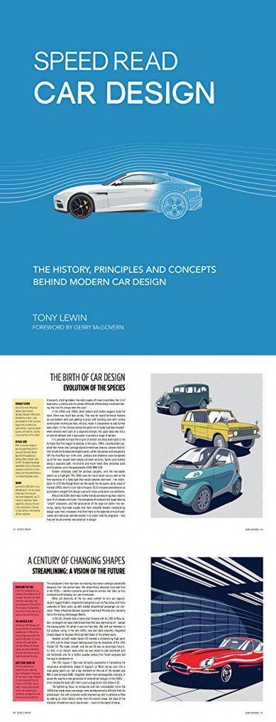 Speed Read Car Design: Die Geschichte, Prinzipien und Konzepte des modernen Autodesigns   – Stuff to buy