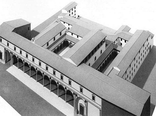 1000 images about l 39 ospedale degli innocenti on pinterest for Architecture quattrocento