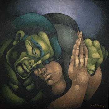 Abrazo de Ricardo Carpani