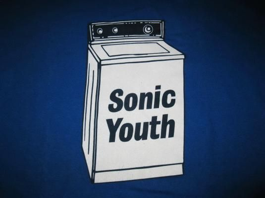 sonic youth washing machine shirt