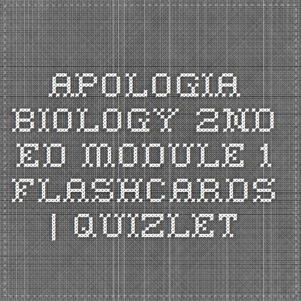 apologia marine biology module 2 study Study helps include graphic organizers and a module summary for  companion cd-roms are also available for each apologia  marine biology dissection.