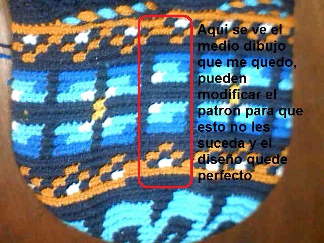 Como hacer una mochila estilo Wayuu.     Primero debemos saber como se hace el punto crochet para realizar la mochila   En este vídeo muestr...