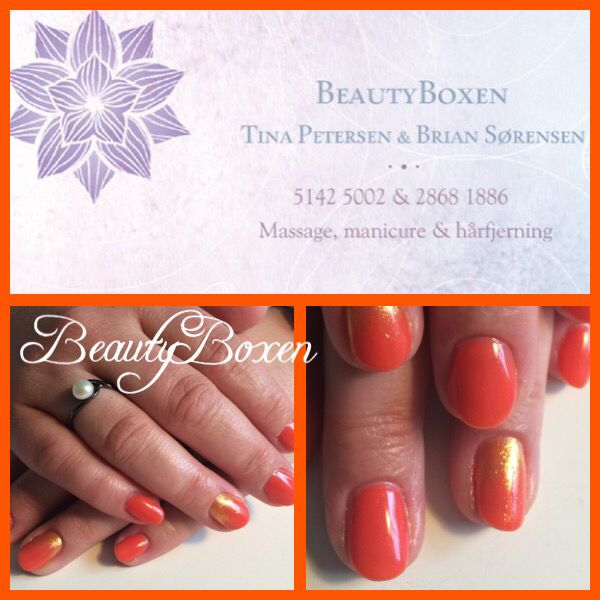 CND Shellac - Desert Poppy with additives