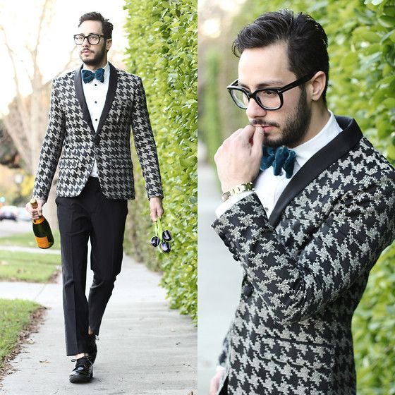 Reinaldo Irizarry - Mr Turk Blazer, Zara Shirt, Mr Turk Pants, Zara Shoes, Boutaugh Bow Tie, Tom Ford Glasses - Look good- Feel good with unique wardrobe selections, styled by yours truly... #FashionStyllion #StyleExpert #TheProFashionalOne