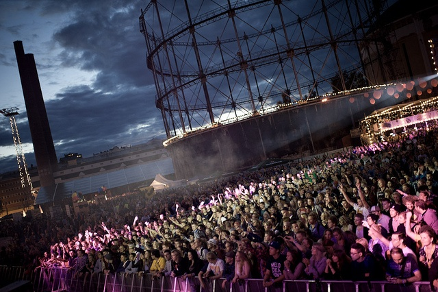 Flow Festival in Helsinki. I've been there 3 summers in a row this far!