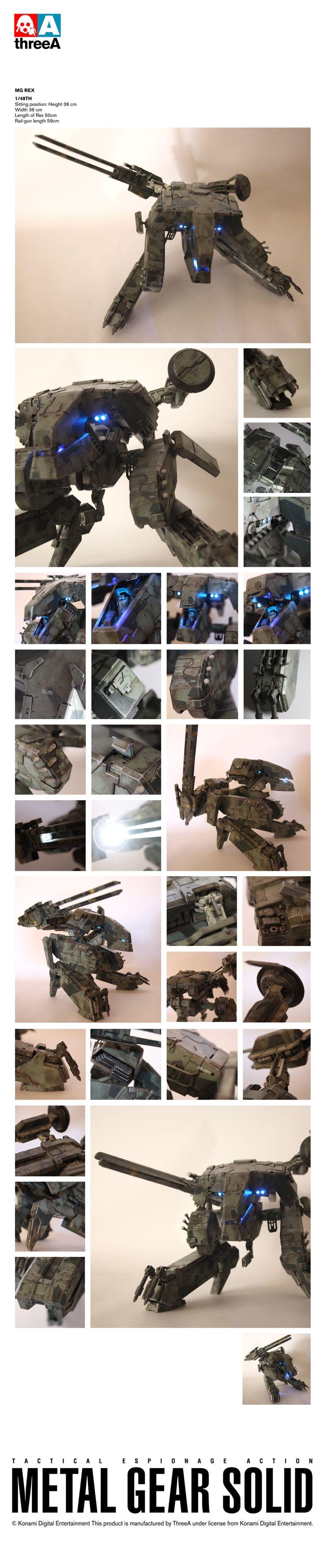 MG Rex - Rex was the best metal gear.. it had the metal gear in the metal gear!! And I locked my keys inside. :(