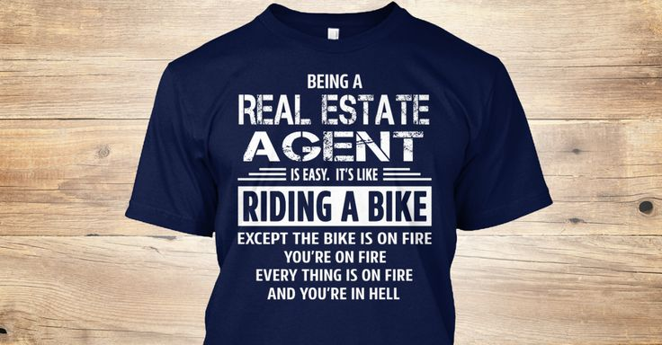 Being a(an) Real Estate Agent is easy. It's like riding a bike. Except the bike is on fire and you're on fire and everything is on fire and you're in hell. If You Proud Your Job, This Shirt Makes A Great Gift For You And Your Family. Ugly Sweater Real Estate Agent, Xmas Real Estate Agent Shirts, Real Estate Agent Xmas T Shirts, Real Estate Agent Job Shirts, Real Estate Agent Tees, Real Estate Agent Hoodies, Real Estate Agent Ugly Sweaters, Real Estate Agent Long Sleeve, Real Estate Agent…