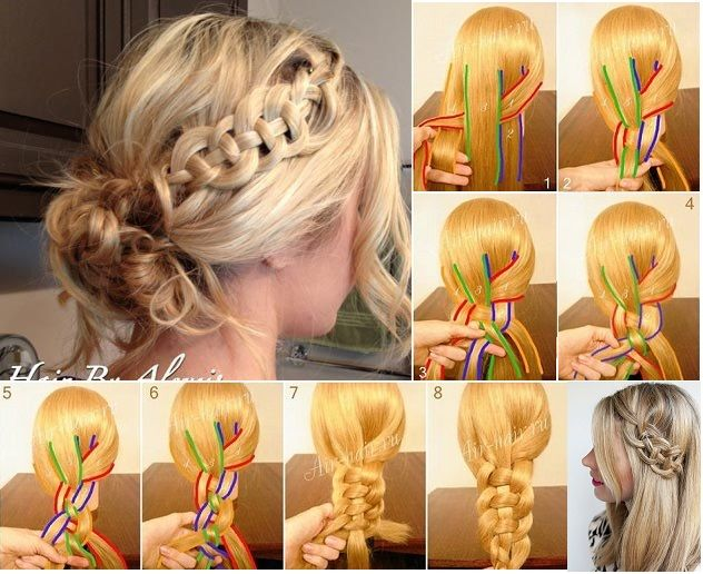 Celtic Braiding (with video) - by All Day Chic  --  http://alldaychic.com/how-to-make-celtic-braiding-video/