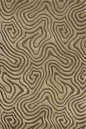 Miron MB-01 HM Taupe Rug from the Pangea III collection at Modern Area Rugs