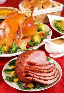 christmas dinner ideas with dinner recipes - complete with christmas dinner menu
