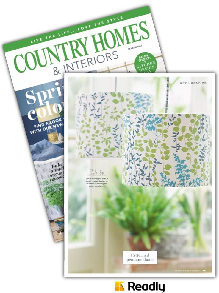 Suggestion about Country Homes & Interiors Magazine March 2017 page 141