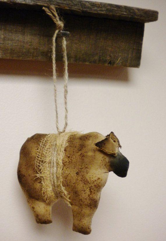 Primitive Sheep Ornament Primitive Animals Primitive