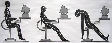 Image result for bad posture effects- digital health