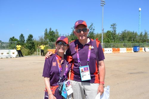 We caught up with Barbara and Larry Richardson from Shoreham by Sea in Sussex at Go Local, the UK's biggest celebration of volunteering, to see what they've been up to since being Games Makers at the London 2012 Games.