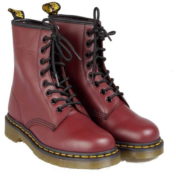 1460 leather boots A/I 2013 dr martens (5.420 CZK) ❤ liked on Polyvore featuring shoes, boots, doc martens, outfits, genuine leather boots, dr. martens, leather footwear, genuine leather shoes and real leather shoes