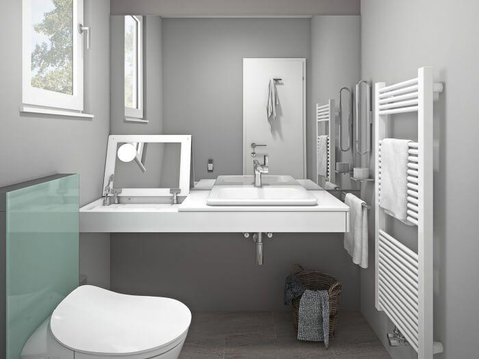 Badplaner Jetzt Badezimmer Planen Mit Obi In 2020 Badezimmer Planen Helle Badezimmer Bader Ideen