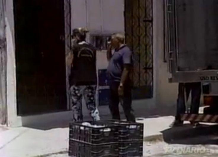 23/10/2014 - Visa de Fortaleza (Eneylândia Rabelo em primeiro plano) interdita indústria de alimentos