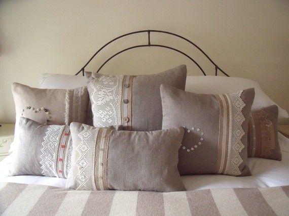 lace cushions
